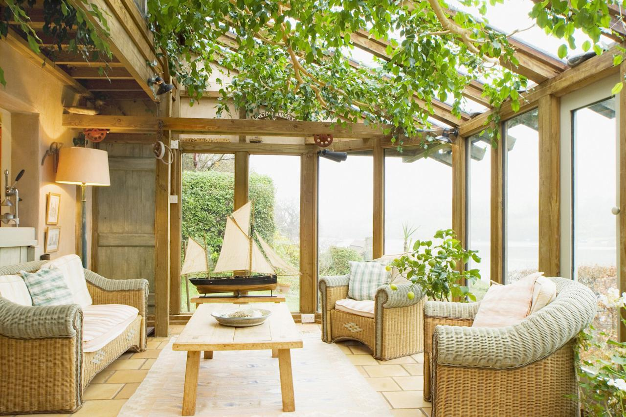 """<p>We always love a patio or <a href=""""https://www.countryliving.com/gardening/garden-ideas/g1336/porch-and-patio-decorating-ideas/"""">front porch idea</a> around here, but there's something about a sunroom we can't get enough of. Instead of braving the outdoor elements or feeling frustrated in the winter when you can't sit in your <a href=""""https://www.countryliving.com/gardening/garden-ideas/g2314/backyard-ideas/"""">backyard </a>whenever you like, you can take a seat in your sunroom, feel the warmth of the sun on your skin, and relax all afternoon. Also known as a four-season room, it's a space that's meant to be enjoyed all year long. Think of it as a sun-filled version of your living room that invites in ideal views of the outdoors through large windows. And as it turns out, there's a variety of ways you can decorate a sunroom—enter these beautiful, best sunroom ideas. </p><p>You can always give it an indoors-meets-outdoors feel with wicker furniture and rattan pieces, or you can treat it as a fancy second sitting room, complete with an upholstered sofa, <a href=""""https://www.countryliving.com/home-design/g4654/cozy-chairs/"""">comfy chairs</a>, and some of your favorite décor pieces. In fact, you can outfit it with your latest <a href=""""https://www.countryliving.com/diy-crafts/g3030/flea-market-flips/"""">flea market</a> scores—and you won't have to worry about them getting ruined by rain and wind! From bohemian to modern farmhouse, these bloggers and designers have mastered the art of decorating stunning sunrooms.</p>"""