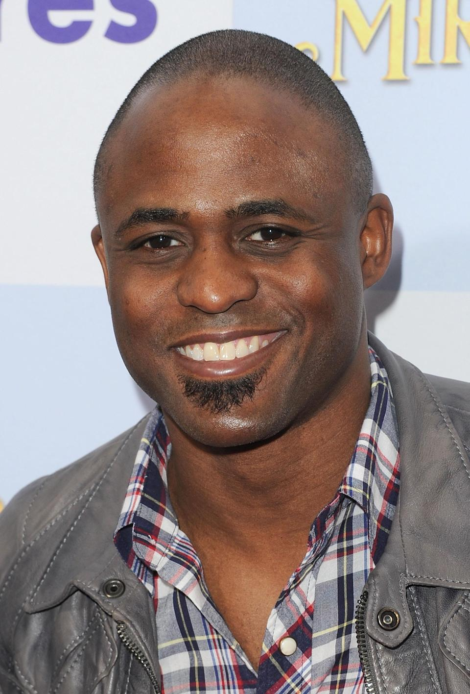 "<b>Wayne Brady:</b> ""All my prayers to the Aurora tragedy victims and their families. Is feeling safe a thing of the past? Wow...God Bless. "" (Photo by Jason Merritt/Getty Images)"