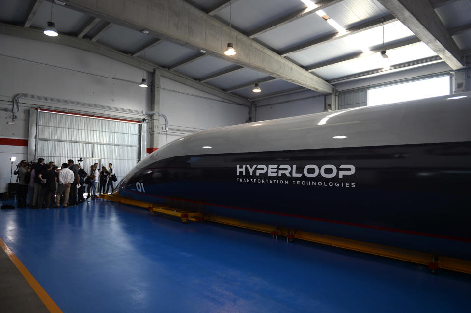 "The Virgin Hyperloop made its first journey carrying passengers on November 8, 2020, in a test the company claimed represented a major step forward for the ""groundbreaking"" technology capable of transporting people."