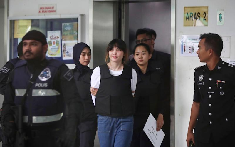 Doan Thi Huong will testify in the Kim Jong Nam trial on Monday - AP