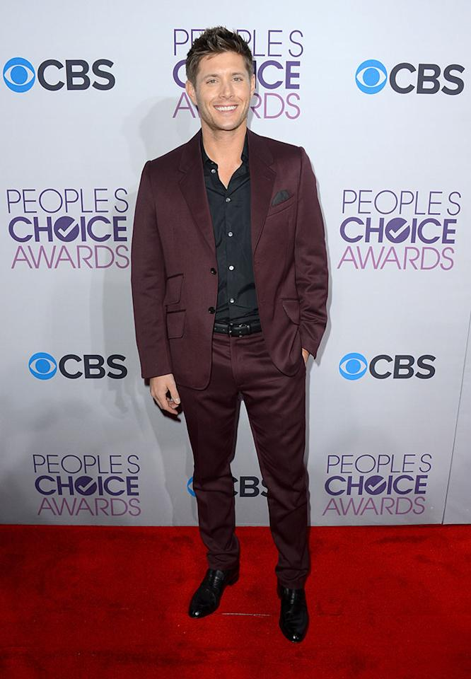 Jensen Ackles attends the 34th Annual People's Choice Awards at Nokia Theatre L.A. Live on January 9, 2013 in Los Angeles, California.