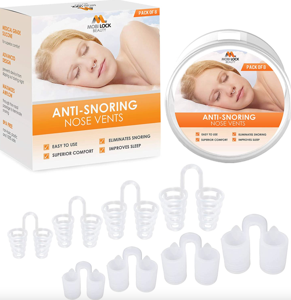 Anti-Snoring Nose Vents (Photo via Amazon)