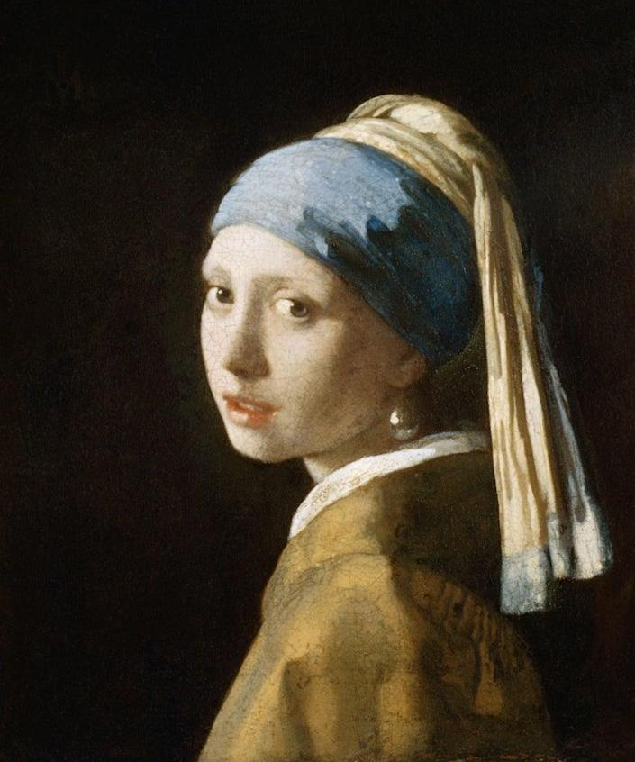 Also known as Girl in a Turban. Circa 1665. Located in: Mauritshuis, The Hague, Netherlands. (Photo by Francis G. Mayer/Corbis/VCG via Getty Images)