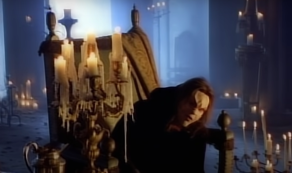 Meat Loaf in the video for the hit song (Meat Loaf)