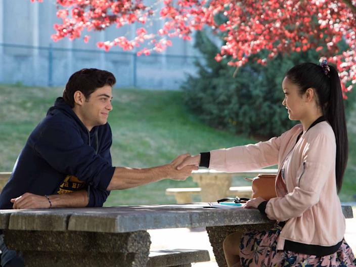 """Noah Centineo and Lana Condor costar in """"To All the Boys I've Loved Before."""""""