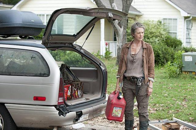 Melissa McBride as Carol in AMC's <em>The Walking Dead</em>. (Photo: Gene Page/AMC)