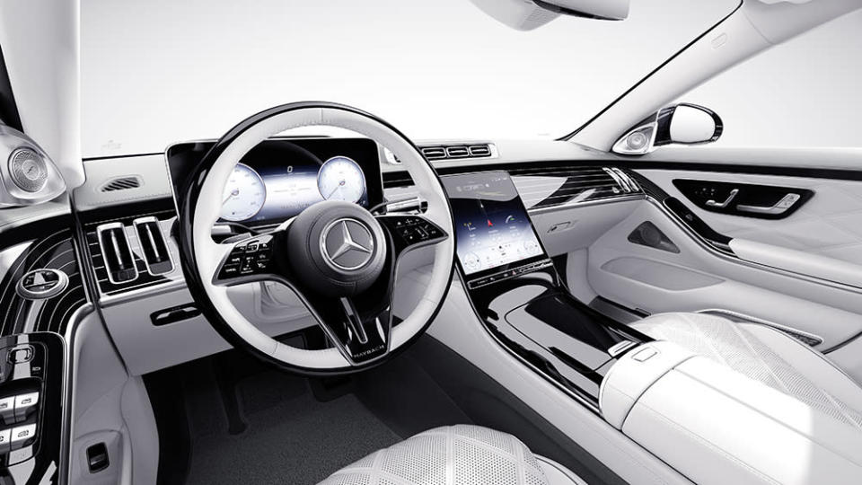 """Inside the S680 4MATIC """"Edition 100"""" - Credit: Mercedes-Maybach"""