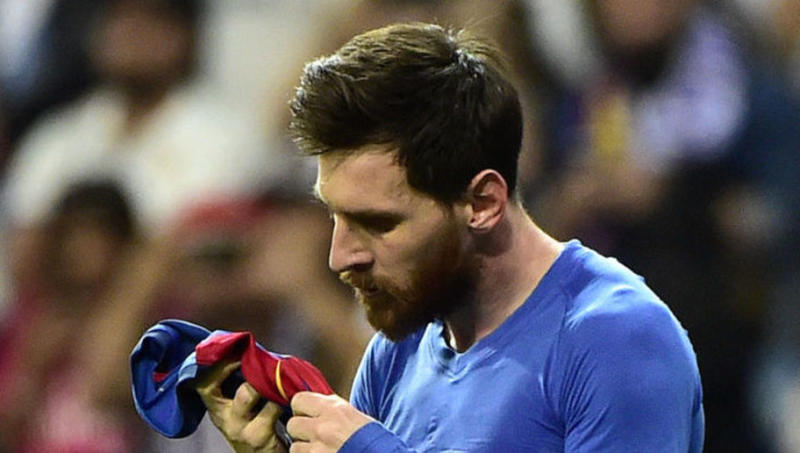 Spanish Publication Come Up With Alternate Reason for Messi's Epic Celebration in El Clasico Finale