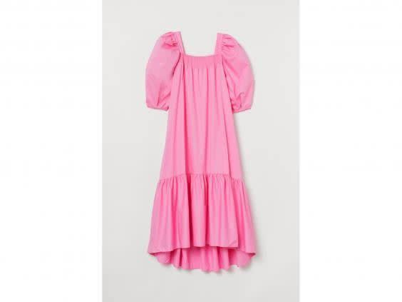 Puffy and pink, this tiered number was a sell-out (H&M)