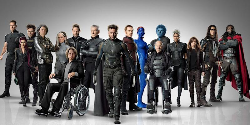 The cast of X-Men: Days of Future Past (Credit: 20th Century Fox)