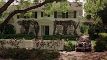 """<p>Coming in at number three is the home in <em>Father of the Bride</em>. Steve Martin's character, George Banks, lives in the dream home. The large white colonial with its green door and oversized front yard tree is as good as it gets. Well, almost, because there's still two houses that are even better.</p><p><a class=""""link rapid-noclick-resp"""" href=""""https://www.amazon.com/Father-Bride-Theatrical-Version-Martin/dp/B071GMSTYC/ref=sr_1_2?s=instant-video&ie=UTF8&qid=1543876301&sr=1-2&keywords=father+of+the+bride&tag=syn-yahoo-20&ascsubtag=%5Bartid%7C10063.g.35507124%5Bsrc%7Cyahoo-us"""" rel=""""nofollow noopener"""" target=""""_blank"""" data-ylk=""""slk:WATCH ON AMAZON PRIME"""">WATCH ON AMAZON PRIME</a></p>"""