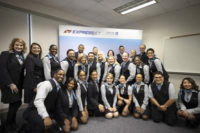 New Hire Flight Attendant Graduation