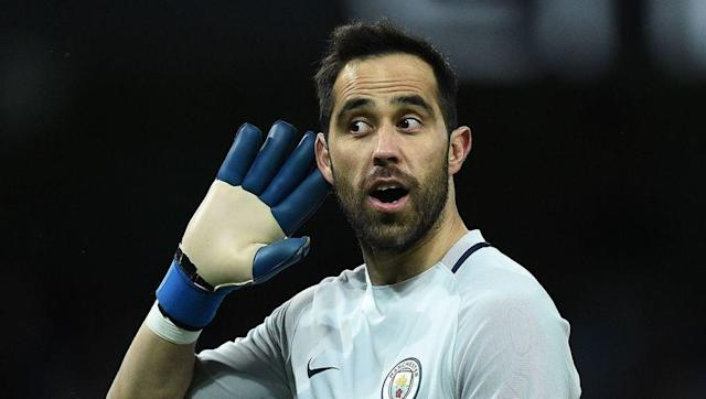 <p>Last summer, we saw City stopper and club hero Joe Hart depart for Torino. Claudio Bravo was brought in with the initial guidelines of 'improving distribution', for attacks starting at the back. Things...have not worked out that way.</p> <br><p>There was one point this season at which Bravo had conceded 16 goals from just 24 shots on target. This has to improve if City are to finish this season on strong form.</p> <br><p>That's if he even gets a game.</p>