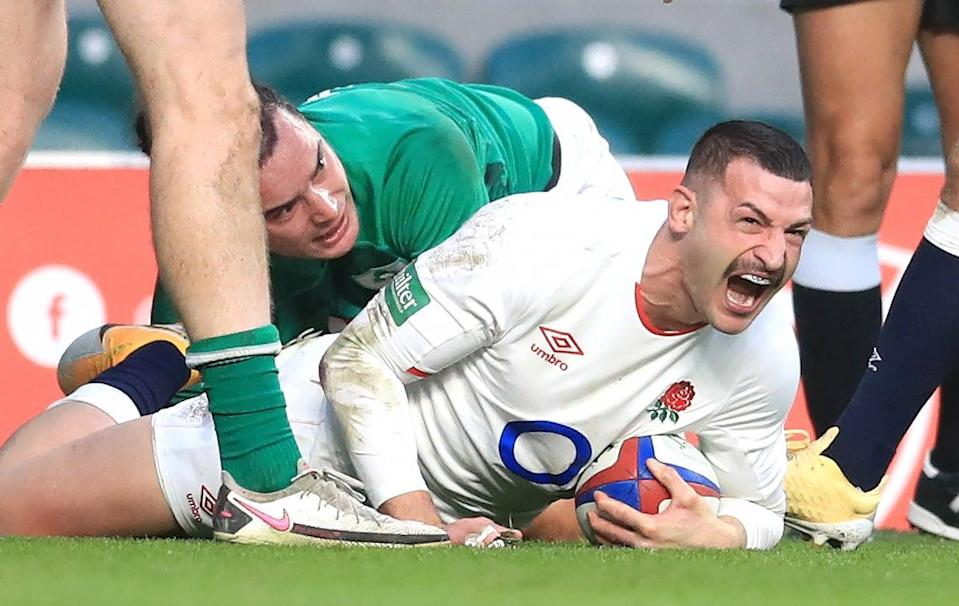 <p>England take on Ireland in the Autumn Nations Cup</p> (PA)