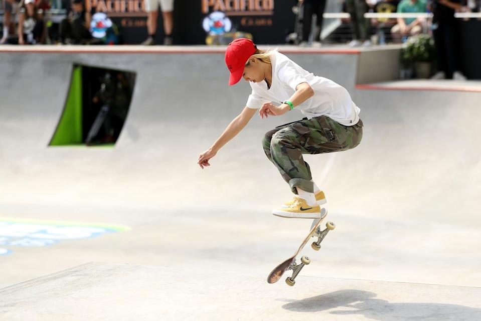 "<p><em>Above: Aori Nishimura competes in the 2019 X Games in Minneapolis</em></p> <p><strong>POPSUGAR: Do you have any tips or advice for other girls looking to start skateboarding?</strong></p> <div class=""pullquote-container""><blockquote class=""pullquote"">""If you want to do it, you've just got to try. There's no secrets.""</blockquote></div> <p><strong>Lizzie:</strong> For anyone looking to get into skateboarding, I would say don't be afraid to try, and if you learn how to fall, that's the key to not getting injured. If you want to do it, you've just got to try. There's no secrets. You will get injured to some level. If you're just cruising down the street, there's going to be a rock and you're going to hit it at some point. It doesn't matter who you are; the best skateboarders in the world, they will slam because a rock will stop their board.</p> <p><strong>Aori:</strong> I'm not going to lie: skateboarding is tough at the beginning, but I just don't want them to give up. Of course there's a fear of getting hurt. It's scary, but I just want people to realize the joy you get from not just skating by yourself, but also with friends. Enjoying it with your friends and the feeling of landing a new trick, it's incomparable to anything that I've felt and that feeling overcomes the fear of falling. I just hope that everyone realizes that and doesn't give up halfway through.</p> <p><strong>Elissa:</strong> I think the only advice that I'd give is that it's going to hurt, you're going to fall down, but it's something that you can do by yourself. You don't really have to rely on anybody else to do it, so if you want to do it, you have to want to start learning.</p>"