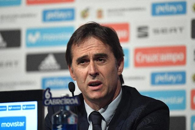 Julen Lopetegui's contract renewal comes a day after he named Spain's squad for the World Cup (AFP Photo/GABRIEL BOUYS )