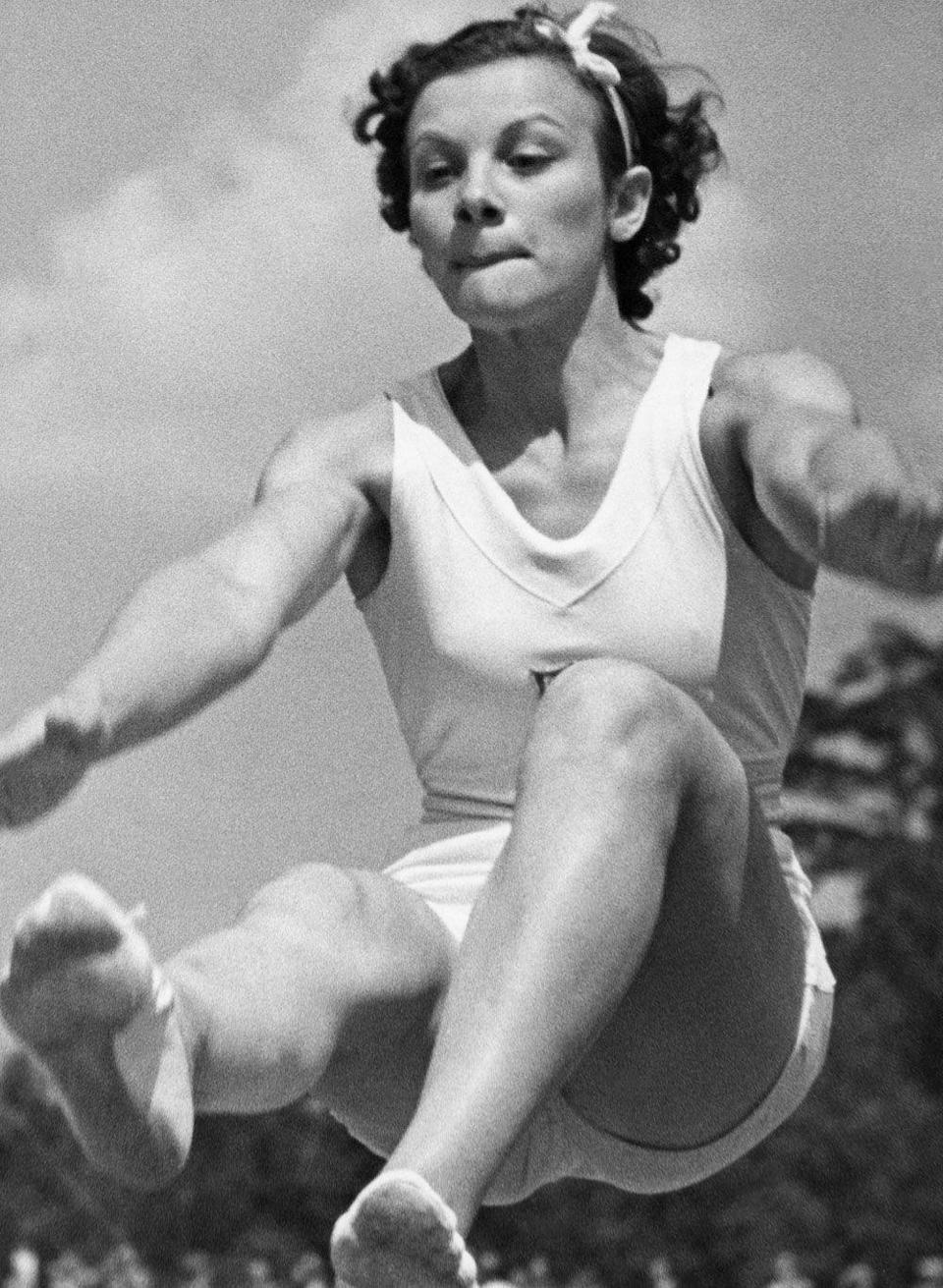 <p><em>Consetta Caruccio-Lenz</em><br></p><p>In a pre-spandex world, jumping over a pommel horse was a medal-worthy feat, even without flips and twists.</p>