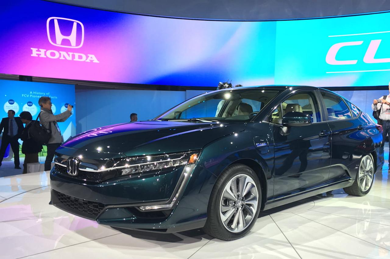 Honda has introduced electric and hybrid variants of its Clarity sedan. The plug-in hybrid model has an all-electric range of 42 miles, and it's expected to become the best-selling variant.