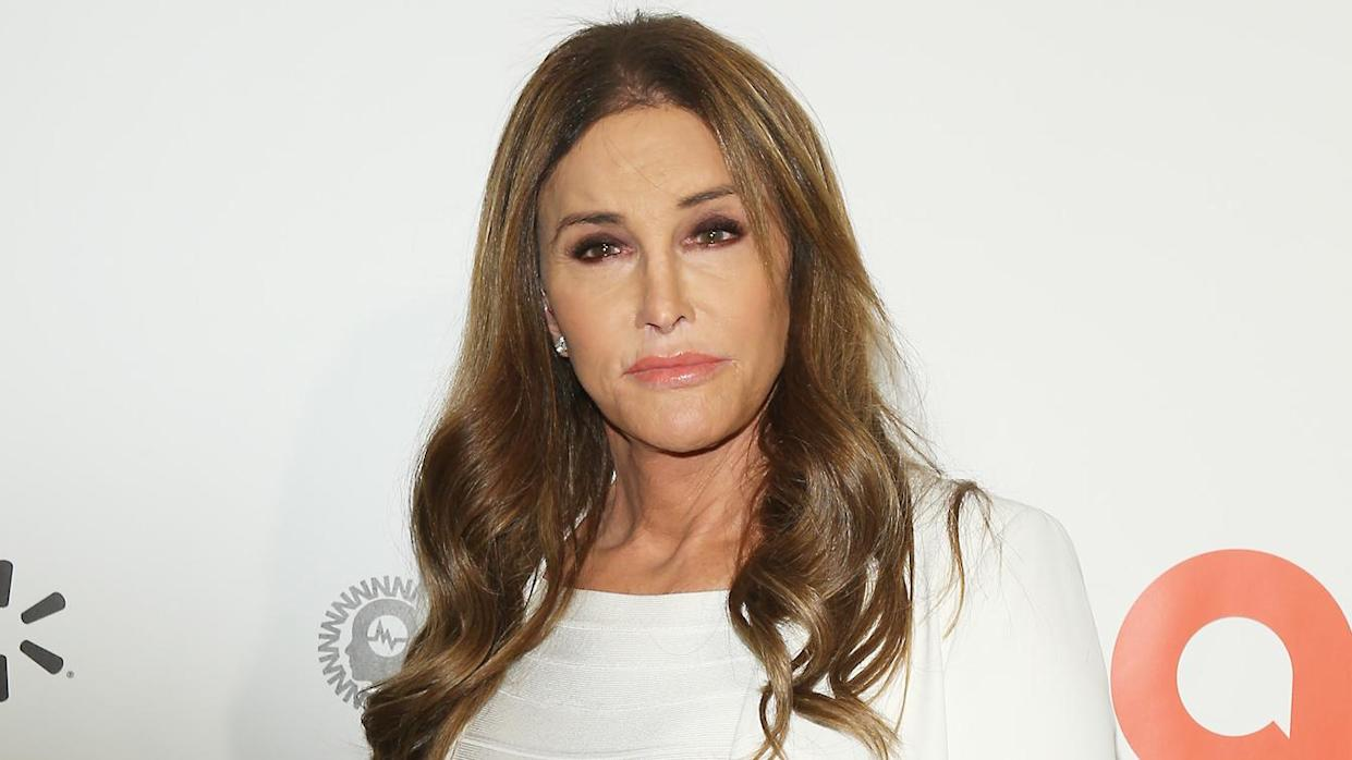 Caitlyn Jenner attends the 28th Annual Elton John AIDS Foundation Academy Awards Viewing Party on February 9, 2020 in West hollywood, California. (Michael Tran/AFP via Getty Images)