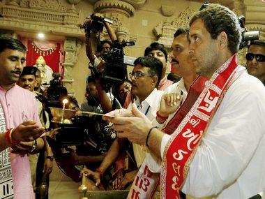 Rahul Gandhi takes Gujarat temple-hopping strategy to Karnataka, to visit four places of worship in upcoming tour