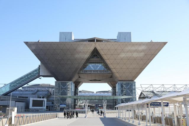 <p>The Tokyo Big Sight (Photo courtesy of Tokyo 2020) </p>