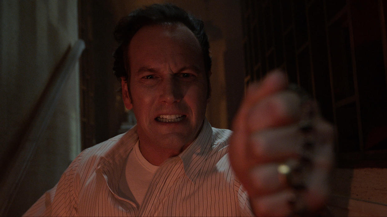 Patrick Wilson as Ed Warren in 'The Conjuring: The Devil Made Me Do It'. (Warner Bros)