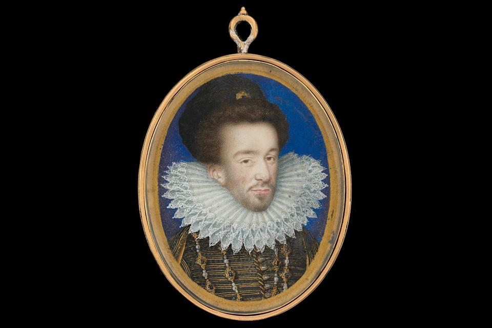 Miniature of Henri III of France by Jean Decourt, 1578Philip Mould and Company