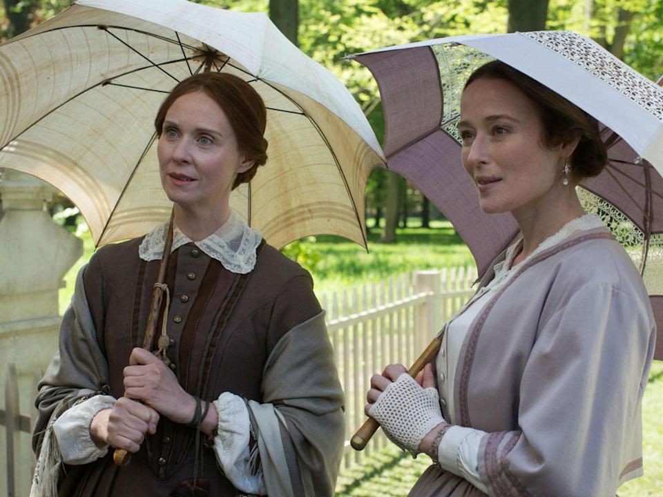 Cynthia Nixon and Jennifer Ehle in Terence Davies A Quiet Passion