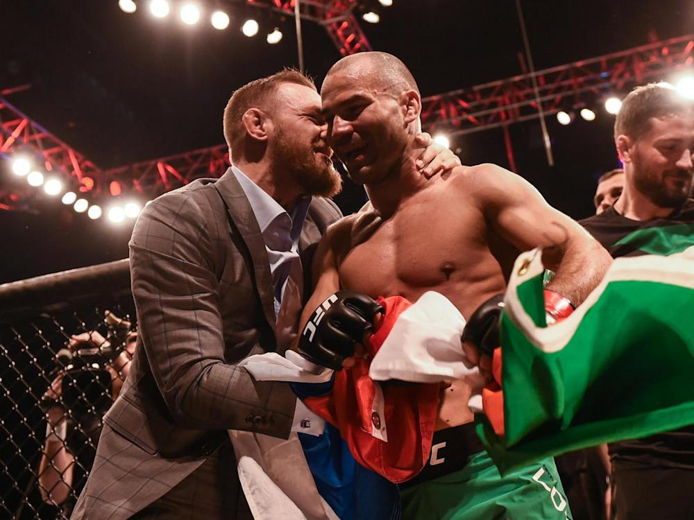 McGregor will not be present this weekend (Getty)