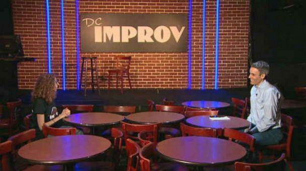 PHOTO: Comedy clubs have had to shut their doors during the COVID-19 pandemic. Allyson Jaffe, co-owner of DC Improv in the nation's capital, had to close for the first time in nearly two decades in business. (ABC News)
