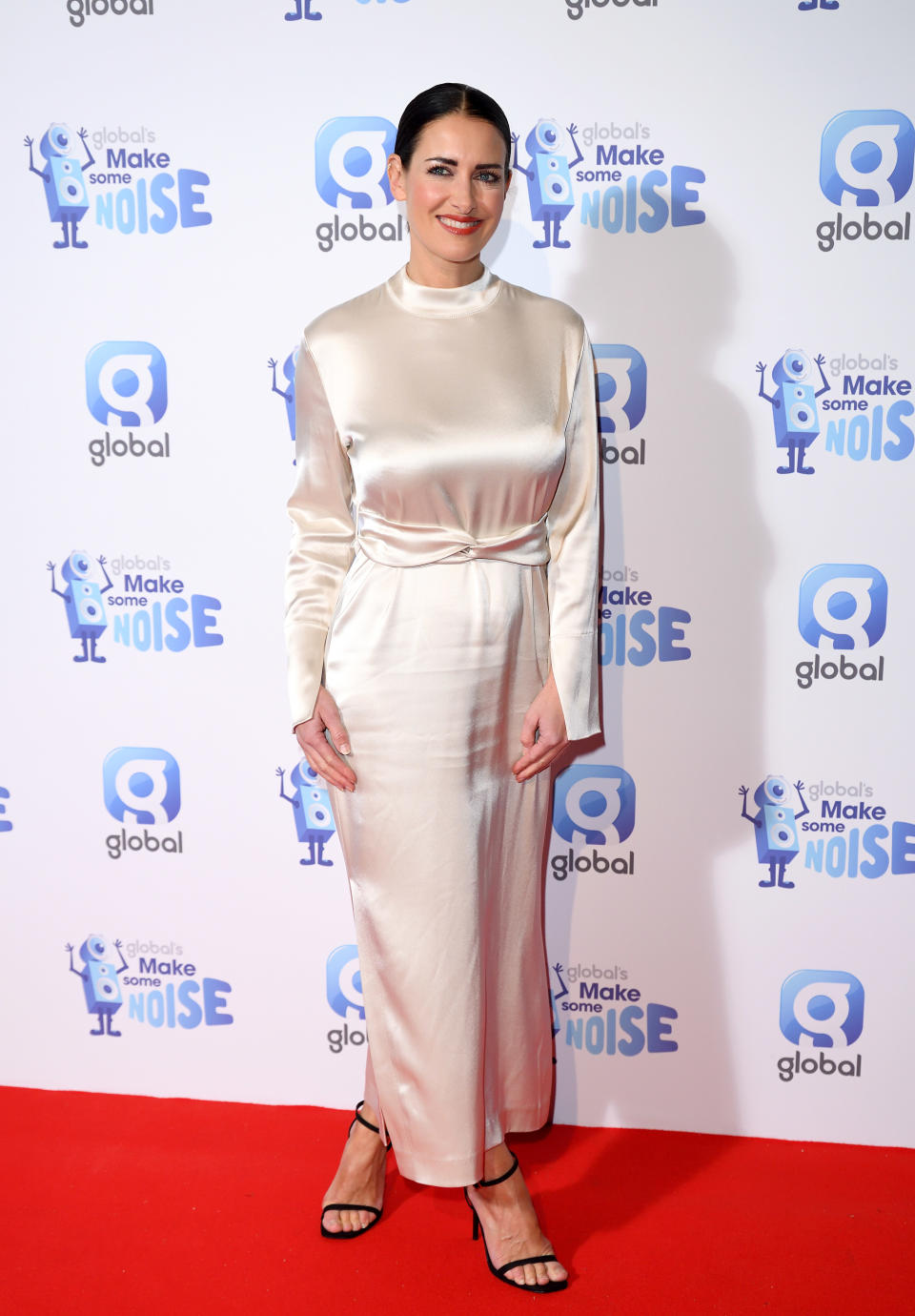 LONDON, ENGLAND - NOVEMBER 25: Kirsty Gallacher attends Global's Make Some Noise Night 2019 at Finsbury Square Marquee on November 25, 2019 in London, England. (Photo by Karwai Tang/WireImage)