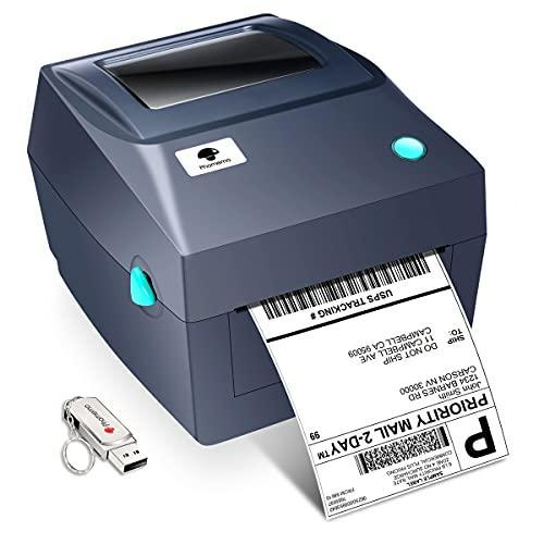 Thermal Printer for Shipping Packages - Commercial Grade Phomemo Shipping Label Printer