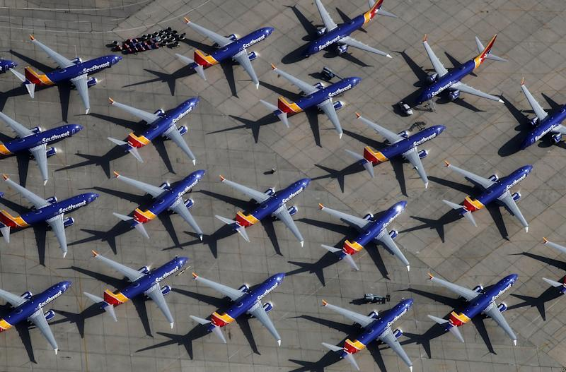 Boeing's 737 Max Bills Include $2,000 a Month to Park Each Grounded Jet