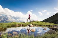 <p>Good running is often accompanied by mountains. Runners love a challenge and a rewarding view. Perhaps no mountains are more rewarding than the Alps. Travel to this region in southeastern France to climb the mountains and catch site of the famed Mount Blanc.</p>