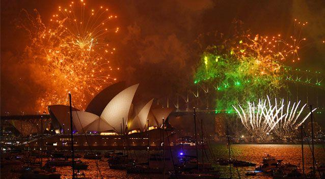 sydney welcomed 2018 with an impressive firework display source aap