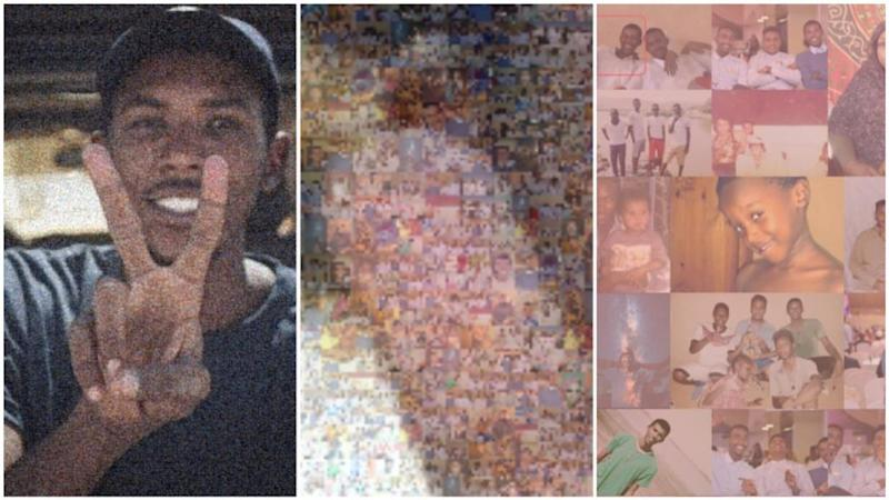 Brothers create mosaic portraits of protesters killed in Sudan's revolution