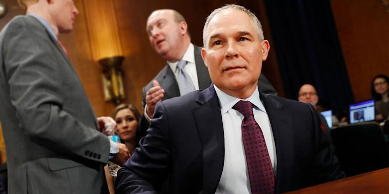 Scott Pruitt Says 'Unrelenting Attacks' Led To His Resignation