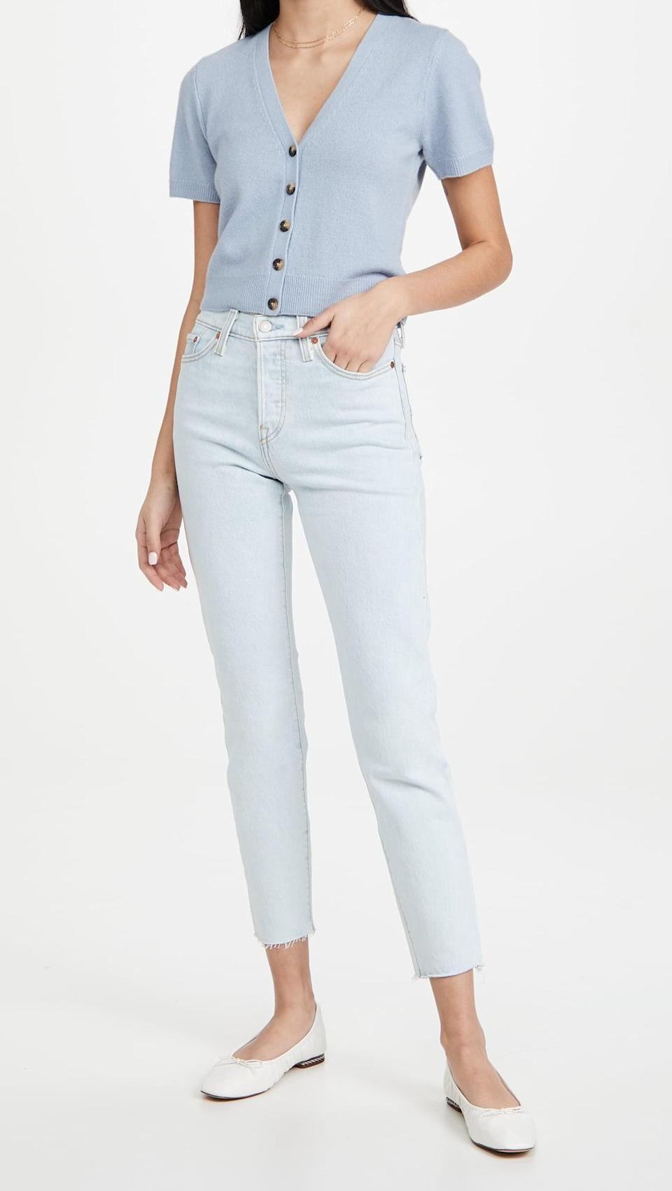 <p>These light wash <span>Levi's Wedgie Icon Fit Jeans</span> ($69, originally $98) are perfect for summer.</p>