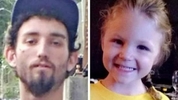 Justin Bennett, left, was on trial for second-degree murder in the Oct. 5, 2017, death of Ivy Wick, right, who was the daughter of the woman he was living with, Helen Wordsworth.  (Facebook, gofundme.com - image credit)