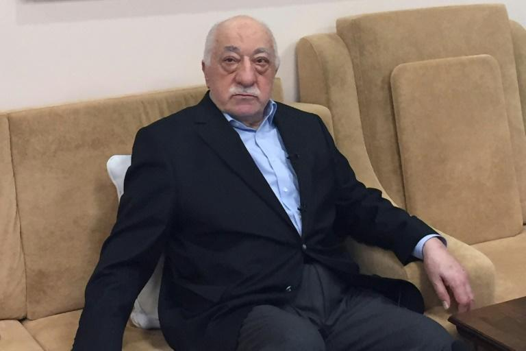 Turkish cleric and opponent to the Erdogan regime Fethullah Gulen sits at his residence in Saylorsburg, Pennsylvania, on July 18, 2016