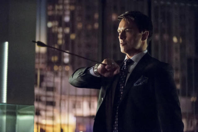 """Darkness on the Edge of Town"" -- John Barrowman as Malcolm Merlyn"