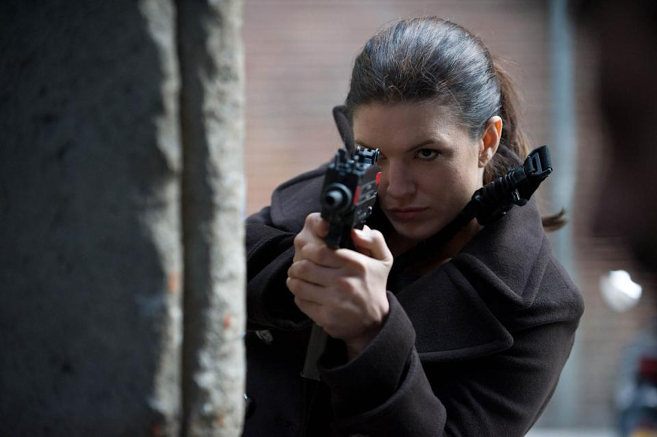 Gina Carano in 'Haywire' (credit: Momentum Pictures)