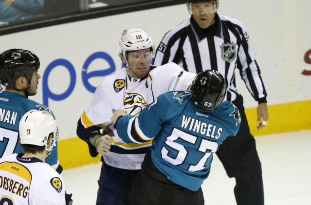 James Neal becomes first NHL player fined for diving in league crackdown