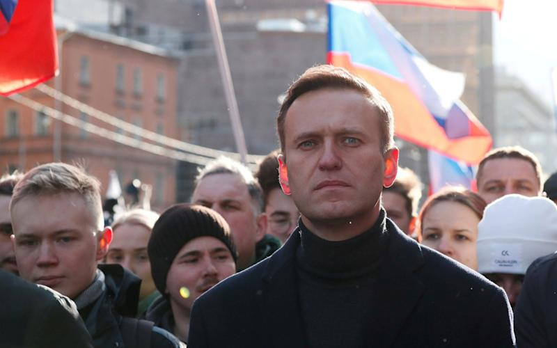 Russian opposition politician Alexei Navalny. - Reuters