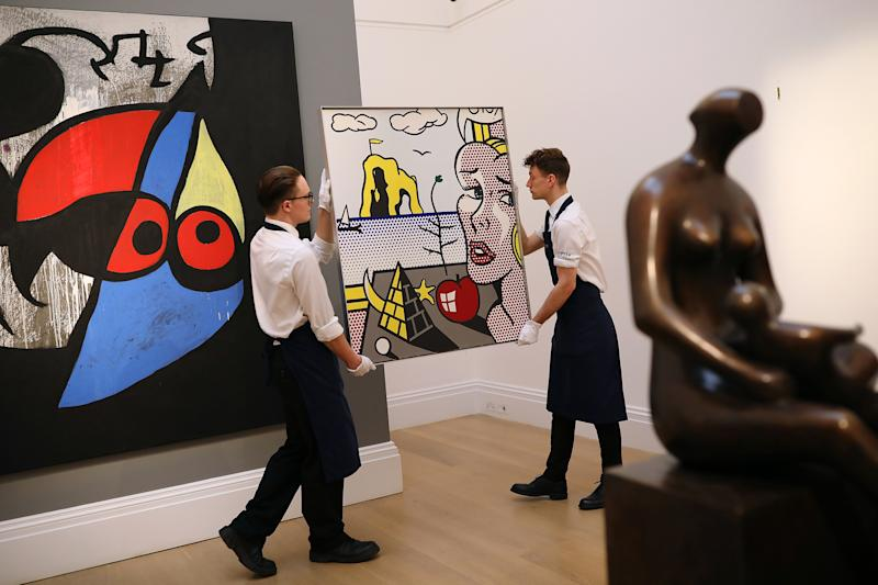 Private Deal for Sotheby's Pushes Art Market 'Underground'