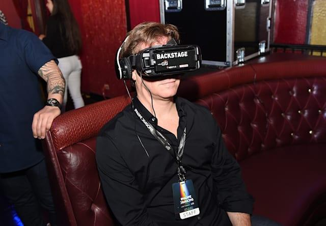 LOS ANGELES, CA - JUNE 15: Guests attend Imagine Dragons Live presented by Citi and Live Nation exclusively for Citi cardmembers and broadcast in VR via NextVR at The Belasco on June 15, 2017 in Los Angeles, California. (Photo by Kevin Winter/Getty Images for Citi)