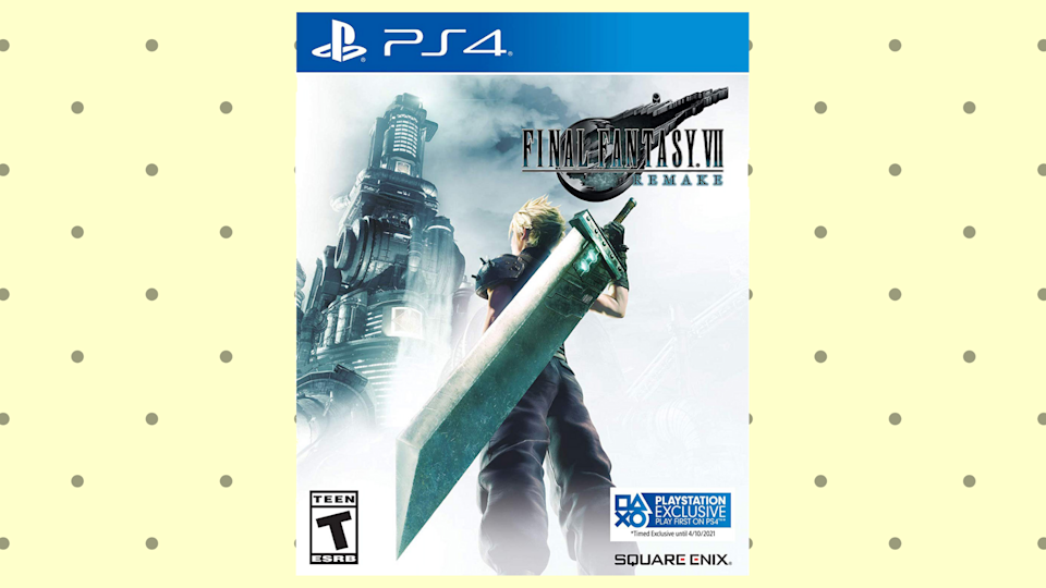 'Final Fantasy VII Remake for PS4': half the price, all of the action. (Photo: Walmart)