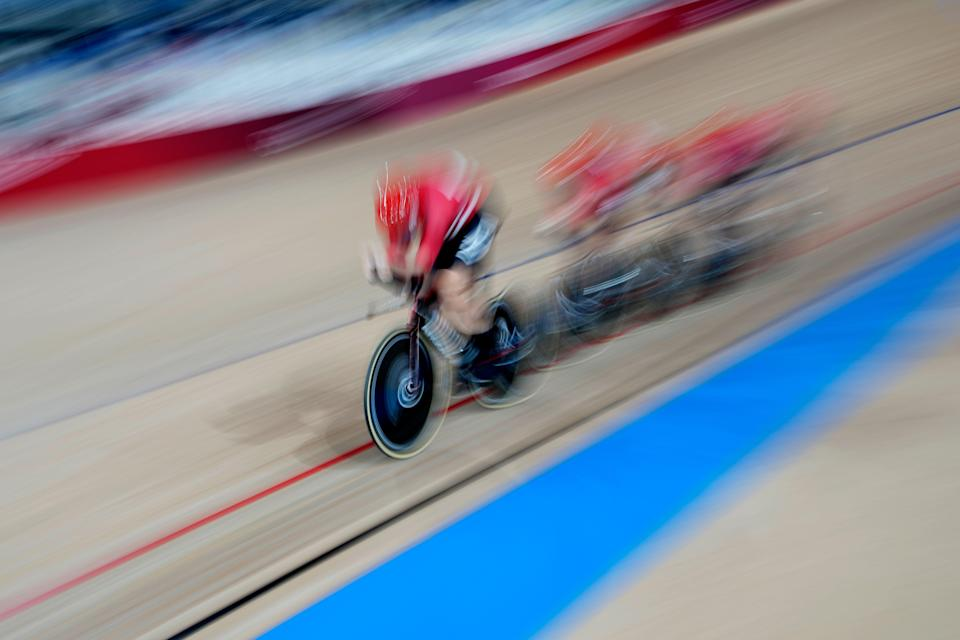 Tokyo Olympics Cycling (Copyright 2021 The Associated Press. All rights reserved)