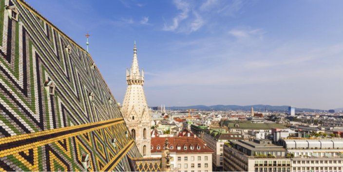 <p>The Austrian capital was ranked as the second most liveable in the world, losing out on the top spot by 0.1 points. (Rex features) </p>