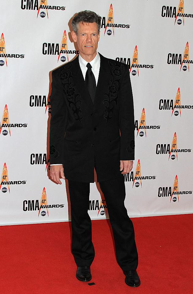 "Randy Travis  Grade: B+  The country legend stood out in sea of black suits thanks to the velvet flair on his blazer. Taylor Hill/<a href=""http://www.wireimage.com"" target=""new"">WireImage.com</a> - November 11, 2009"